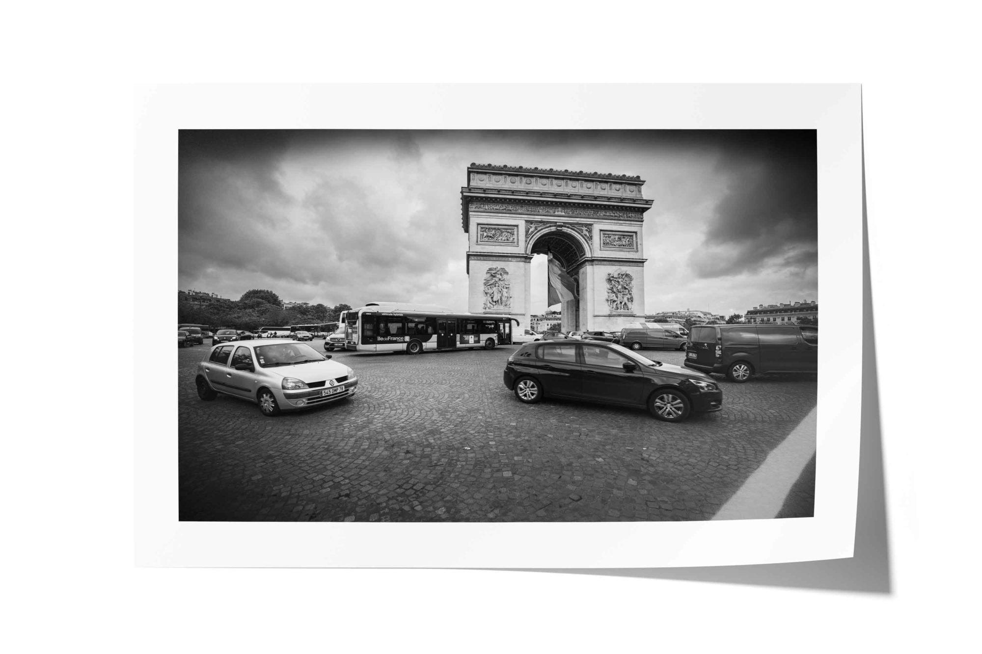 Champs-Élysées, Arc de Triomphe, Paris, France