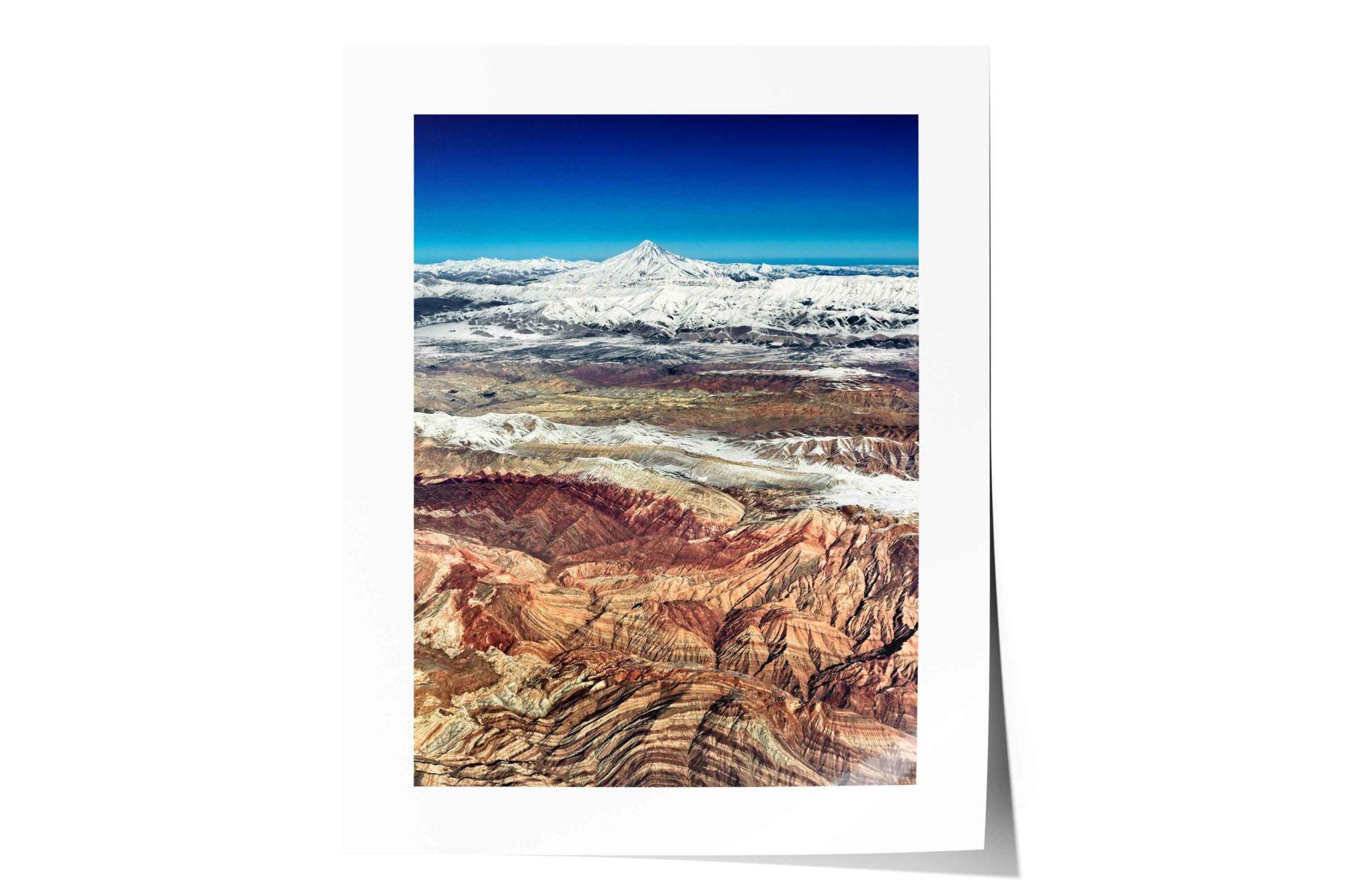 Mount Damavand (Donbavand), Lar National Park, Alborz Range, Close to Tehran, Iran