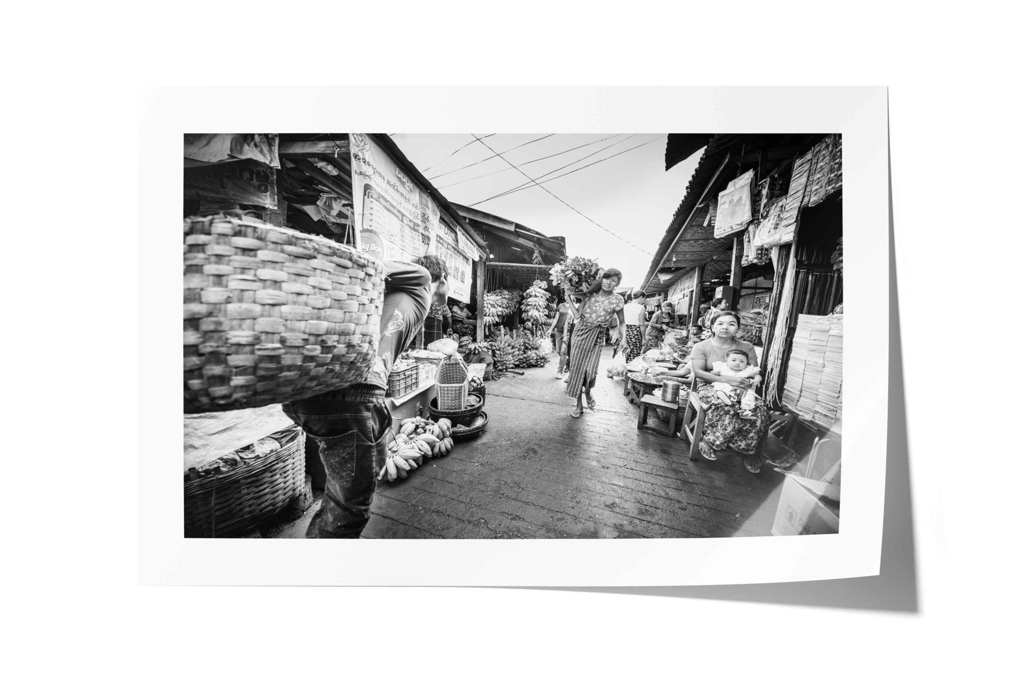 Mani Sithu Market, Nyaung-U, Bagan, Myanmar (Burma)